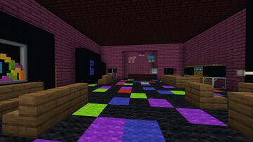 Mini-Game Arcade Minecraft Map & Project