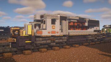 "Kansas City Southern - EMD GP40-3 ""Gray"" Minecraft Map & Project"