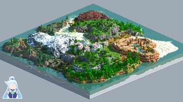 Color Level - 1000x1000 [worldpainter] Minecraft Map & Project