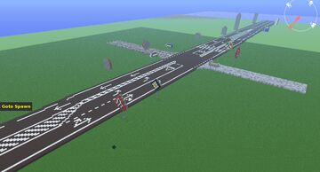 Public Roads Intersection REALISTIC MADE by Anderbest Minecraft Map & Project