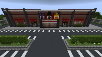 fnaf 1 Minecraft Map & Project