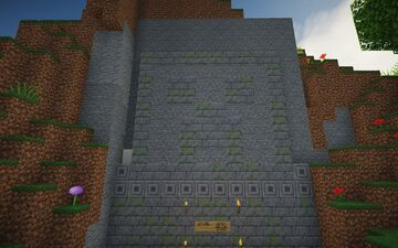CREEPER TEMPLE Minecraft Map & Project