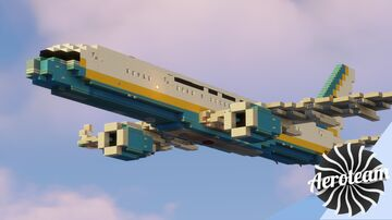 Air Force Two | Boeing C-32A Minecraft Map & Project