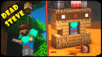 10 Ways to Make Steve Look Dead Minecraft Map & Project