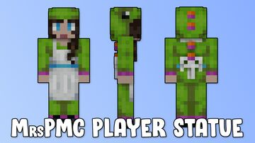 MrsPMC Player Statue Minecraft Map & Project