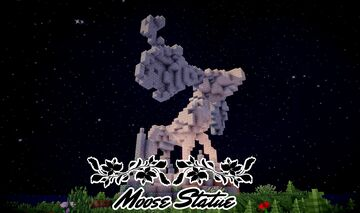 Moose Statue Minecraft Map & Project