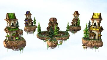 Medieval Victorian Bedwars Arena Map (Download/Free/1.12+) Minecraft Map & Project