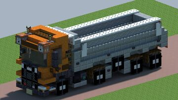 Scania R520 XT tipper [With Download] Minecraft Map & Project