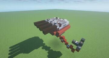 HTT  -  Adjustable Heavy Triple TNT Cannon ( Scattershot | Adjustable Arc | | Movecraft Compatible | Turret ) Minecraft Map & Project