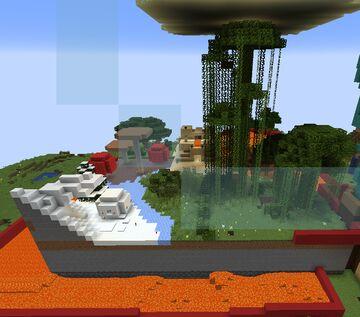 1.17.1 Arena map biomes (1.17.1 Arena Haritası biomelar) Minecraft Map & Project