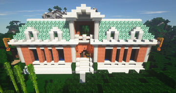 Biblioteca Minecraft Map & Project