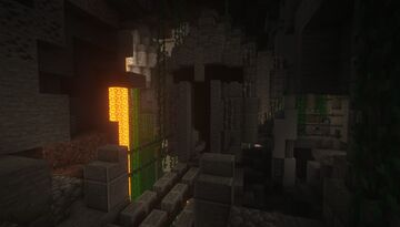 Dwarven Inspired Stronghold Dungeon Minecraft Map & Project