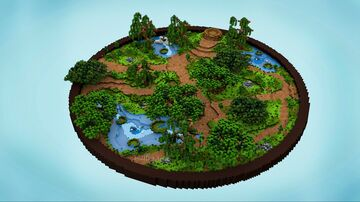 。⋆ Simple Natural Spawn 200x200 。⋆ Minecraft Map & Project