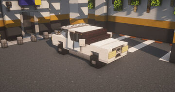 Toyota Hilux Minecraft Map & Project