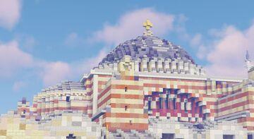 Aya Sofya Mosque (Hagia Sophia) Minecraft Map & Project
