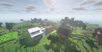 My survival 300 days world Minecraft Map & Project