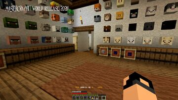 M4STERCR4PHT - WORLD RELEASE 2021 (Single Player) Minecraft Map & Project