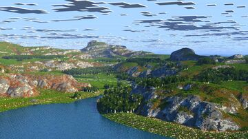 Depano - The rugged bright continent [4k, Download, 1.16+, Megabiome, Java & Bedrock,  Survival Map / RPG Map] Minecraft Map & Project