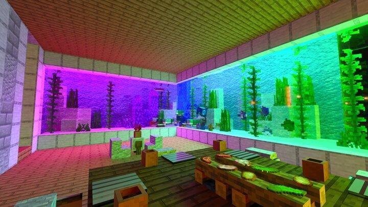 Rainbow aquarium