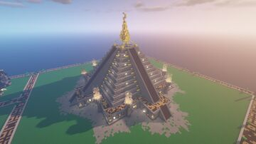 Maya Gold Temple 2.4 Minecraft Map & Project