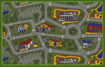 GIANT CAR MAT Minecraft Map & Project