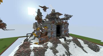Steampunk Factory Minecraft Map & Project