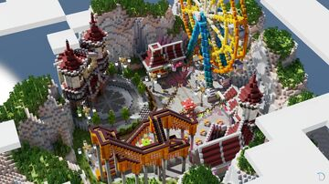 Dreamland Carnival Minecraft Map & Project