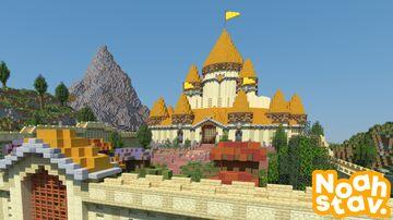 Fantasy Kingdom - Spawn (Download) Minecraft Map & Project