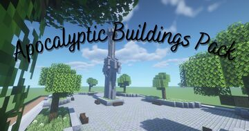 [1.16.5] Apocalyptic Buildings Pack Minecraft Map & Project