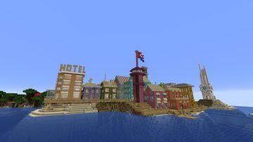 NUEVA CUBA/ Santa Cruz del Norte/ Seaside Village Minecraft Map & Project