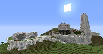 Sci fi town Minecraft Map & Project