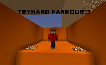 TryHard Parkour!!! Minecraft Map & Project