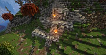 Harmugstahl, fort with interior (Skyrim TES) Minecraft Map & Project
