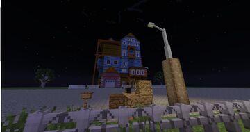 [1.7.10] Hello Neighbor Alpha 1 Minecraft Map & Project