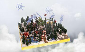 ❄ Winter Spawn - HCF ❄ Minecraft Map & Project