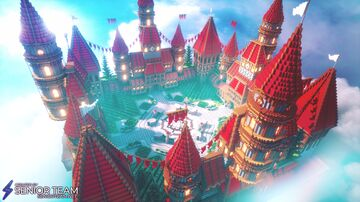 Red Castle Hub Minecraft Map & Project