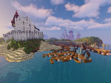 The Cardtlers' island Minecraft Map & Project