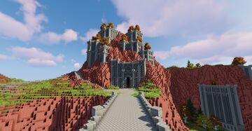 Akkala Citadel (BOTW) Minecraft Map & Project