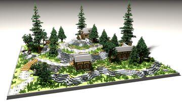 HCF Koth – VILLAGE Theme Minecraft Map & Project