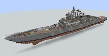 Project 1135 Krivak Class Friagte (1:1) Minecraft Map & Project