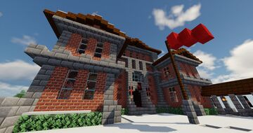 Telgard University of Technology and Villager Sciences Minecraft Map & Project