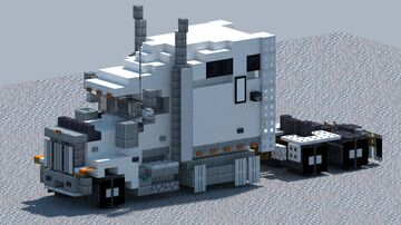 International 9900I, Truck [With Download] Minecraft Map & Project