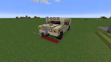 HUMMVEE Hummer Wagon (Redesign) Minecraft Map & Project