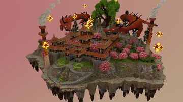 🏯 Mount Fuki [Factions Spawn] 🏯 Minecraft Map & Project