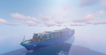 WOCL: Ocean Mover. (Container ship/cargo ship) Minecraft Map & Project