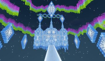 Glacial Auroras Hunt Minecraft Map & Project