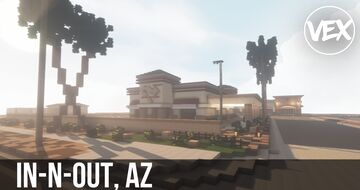 In-N-Out Restaurant (Phoenix, AZ) Minecraft Map & Project