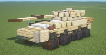 B1 Centauro (1.5:1 Scale) Minecraft Map & Project