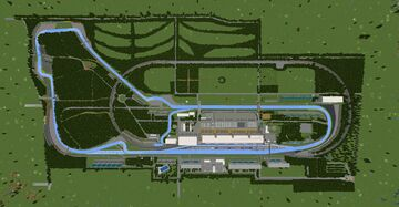 F1 Monza Ice Boat Racing track (1.17.1) Minecraft Map & Project
