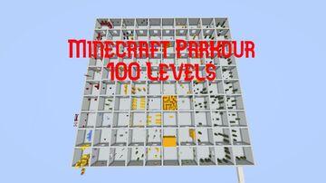 Minecraft Parkour 100 Levels! Minecraft Map & Project